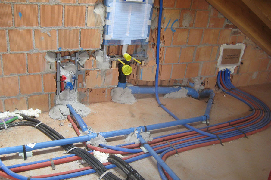 Impianti termici e idraulici tecnoedil - Misure impianto idraulico bagno ...
